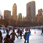 Skating on thick ice in New York City