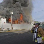 5 alarm fire East Hartford guts furniture warehouse