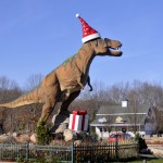 Santasaurus is back for the Christmas Season!
