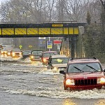 Connecticut's rivers reaching historic flood levels