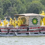 BP Boat Float skims around Lake Pocotopaug