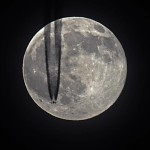 The Full Beaver Moon Fly-By