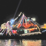 Mystic lighted boat parade