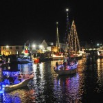 Mystic Lighted Boat Parade 2011