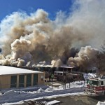 Waterbury storage building fire
