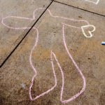 Chalk the Walk brings children's thoughts to art